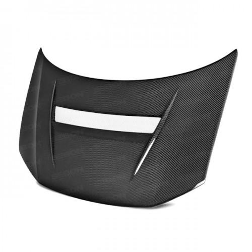 VSII-Style Carbon fibre bonnet for 2013-2015 Honda Civic 4DR