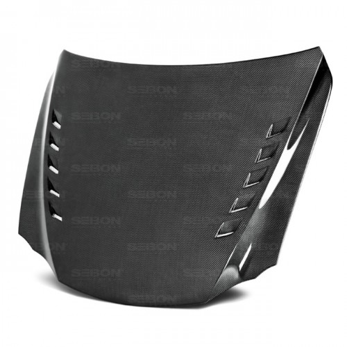 BT-Style Carbon fibre bonnet for 2014-2016 Lexus IS