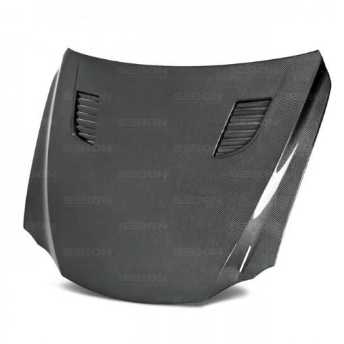 TV-Style Carbon fibre bonnet for 2014-2016 Lexus IS