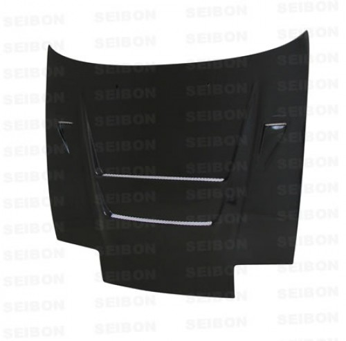 DVII-style carbon fibre bonnet for 1989-1994 Nissan 240SX