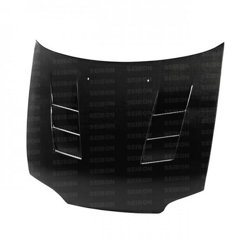 TS-style carbon fibre bonnet for 1992-1995 Honda Civic 2DR/3DR