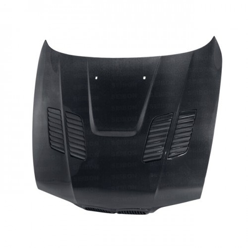 GTR-STYLE CARBON FIBER BONNET FOR 1997-2003 BMW E39 5 SERIES / M5