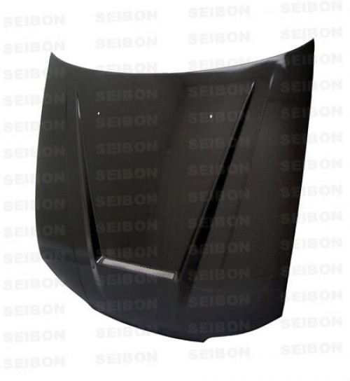 VSII-style carbon fibre bonnet for 1999-2001 Nissan S15