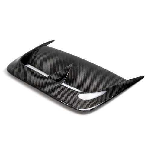 CW-STYLE CARBON FIBRE BONNET SCOOP FOR 2004-2005 SUBARU IMPREZA WRX / STI