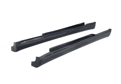 TS-STYLE CARBON FIBRE SIDE SKIRTS FOR 2003-2007 INFINITI G35 COUPE