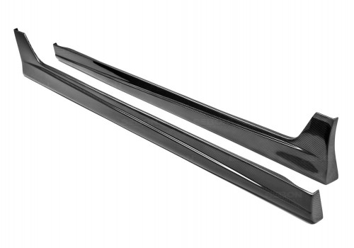 MG-style carbon fibre side skirts for 2008-2010 Honda Accord 4DR