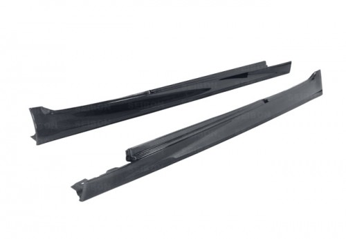 Carbon fibre side skirts for 2012-2013 BMW F10