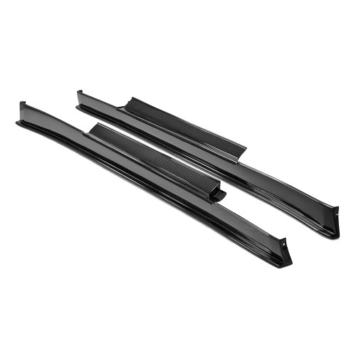 SS-STYLE CARBON FIBRE SIDE SKIRTS FOR 2009-2016 NISSAN GT-R