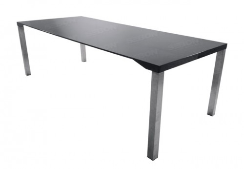 "Carbon fibre Dining / Conference Table 39.5"" x 94.5"" x 29.5"" H"