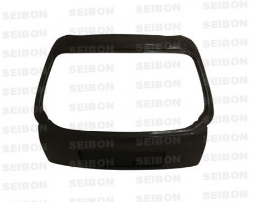 OEM-style carbon fibre boot lid for 1996-2000 Honda Civic HB