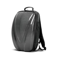 CARBON FIBRE HARD SHELL BACKPACK - Black