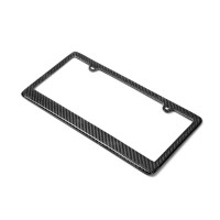 CARBON FIBRE LICENSE PLATE FRAME