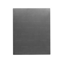 "Single-layer carbon fibre pressed sheet- 15 3/4"" x 19 1/2"""