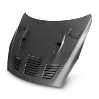 GTII-STYLE DRY CARBON BONNET FOR 2009-2016 NISSAN GT-R*